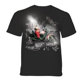 T-Shirt Santa Kradfahrer