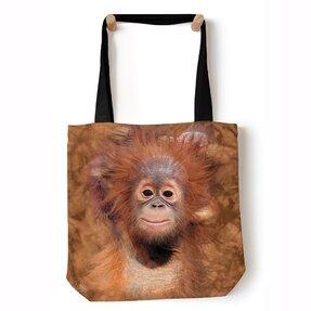 Tote taška na rameno Mláďa orangutana