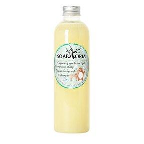 Organický sprchový gel & šampon na vlasy