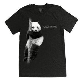 Tri-blend póló Protect Panda