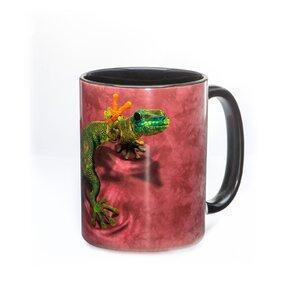 Originelle Tasse mit dem Motiv Eidechse Lizzy