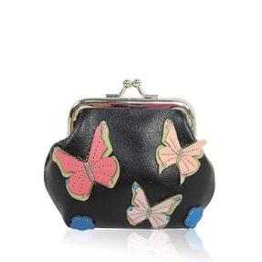 Peňaženka mincovník Motýľ čierna