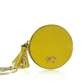 Peňaženka mincovník Round žltá