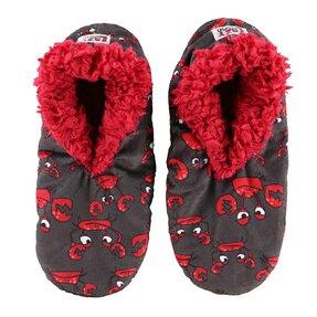 Plyšové papuče Kraby