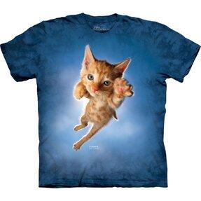 T-Shirt Spielerisches Kätzchen