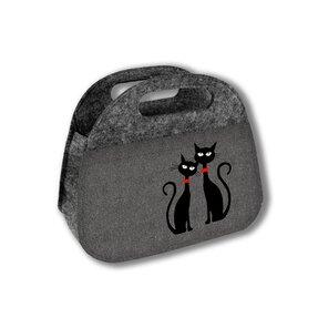 Praktická taška Czarne Koty