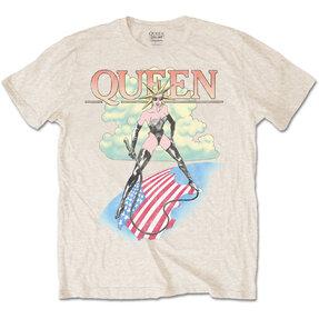 Béžové tričko Queen Mistress