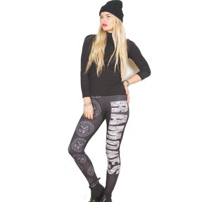 Női leggings Ramones Presidential Seal