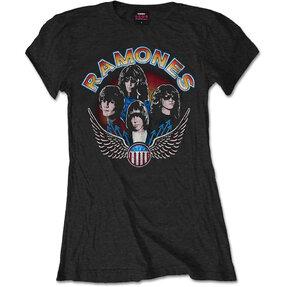Dámské tričko Ramones Vintage Wings Photo
