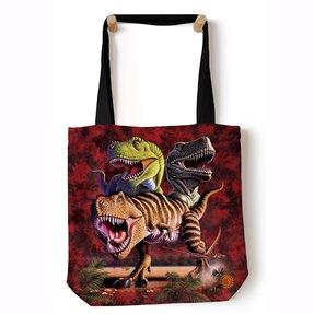 Tote váll táska Tyrannosaurus rex