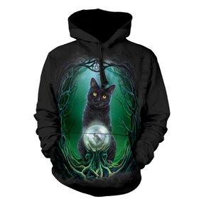 Mikina s kapucí Kočka čarodejnice