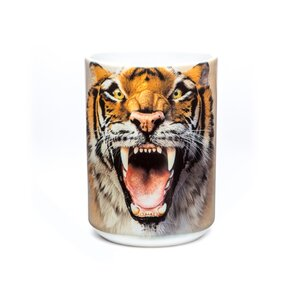 Eredeti mintás bögre Tigris üvöltés