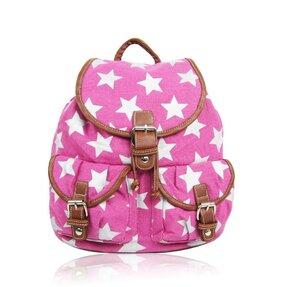 Rózsaszín hátizsák Csillagok