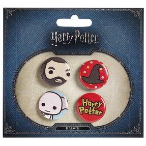 Sada odznaků Harry Potter Hagrid a Dobby