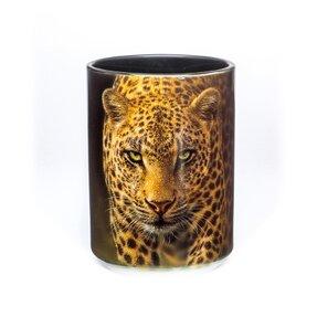 Originálny hrnček s motívom Hypnotický leopard