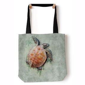 Tote taška na rameno Morská korytnačka