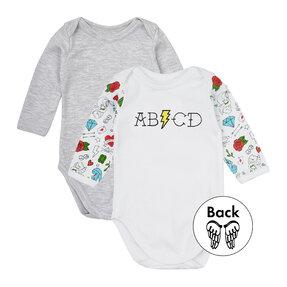 Hosszúujjú gyerek póló szett ABCD