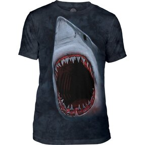 Tri-blend tričko Zuby žraloka