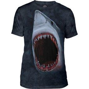 Tri-blend póló Cápa fogak