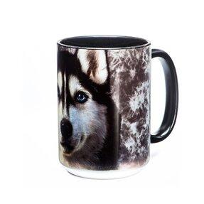 Originelle Tasse mit dem Motiv Siberian Husky