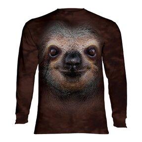 Langarm T-Shirt Faultier