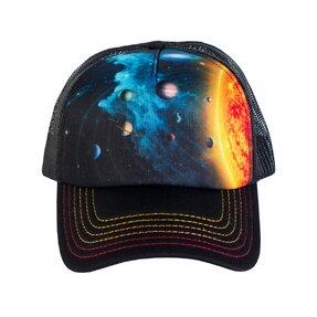 Kappe mit Netz Sonnensystem