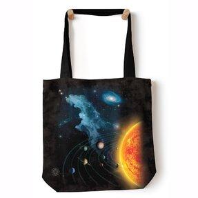 Tote taška na rameno Slnečná sústava