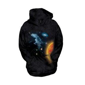 Kinder Sweatshirt mit Kapuze Sonnensystem