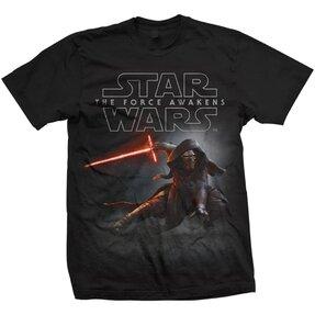 T-Shirt Star Wars Episode VII Kylo Ren Crouch
