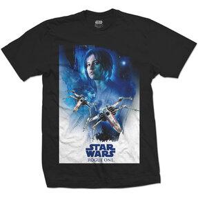 Tričko Star Wars Rogue One Jyn X-Wing 01