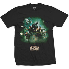 T-Shirt Star Wars Rogue One Rebels Poster