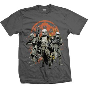 T-Shirt Star Wars Solo Troopers Comp