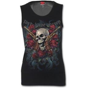 Damen Unterhemd mti Motiv Ein Liebhaber von Waffen