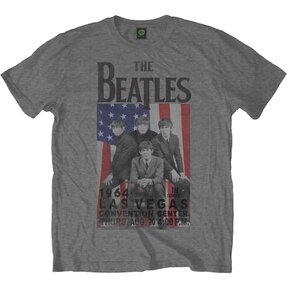 Tričko The Beatles Flag Vegas
