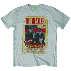 Biele Tričko The Beatles Drop T Logo