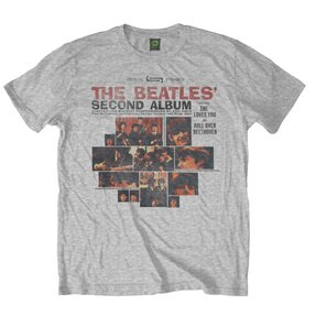 Tricou The Beatles Second Album