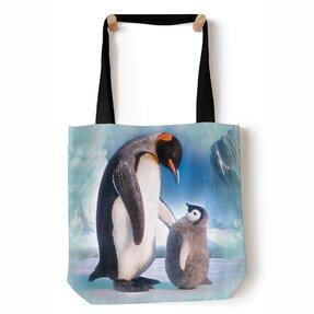 Tote poșeta peste umăr Pinguinii pe ghețar