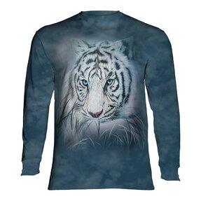 Tričko s dlouhým rukávem Pohled bílého tygra