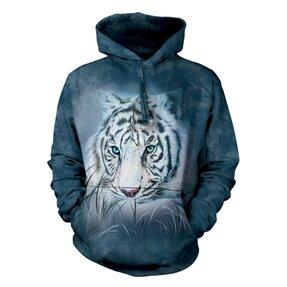 Mikina s kapucí Pohled bílého tygra