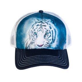 Kšiltovka se síťkou Pohled bílého tygra