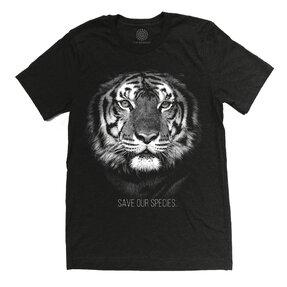 Tri-blend tričko Protect Tiger