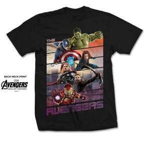 Tricou Marvel Comics Avengers Bars