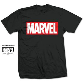 Tričko Marvel Comics Marvel Box Logo