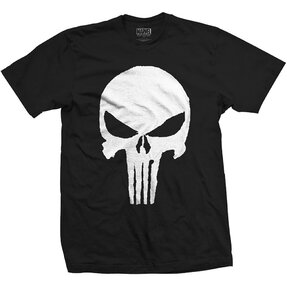 Marvel Comics Punisher Jagged Skull pólo