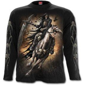 Tričko s dlhým rukávom Čierny jazdec