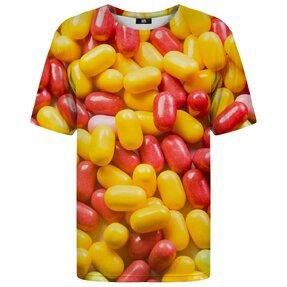 T-Shirt mit kurzen Ärmeln Dragee