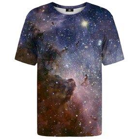 Rövid ujjú póló Lila galaxis