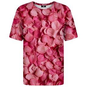T-Shirt mit kurzen Ärmeln Lupenrosen
