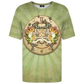 Tričko s krátkým rukávem Znamení zvěrokruhu Blíženci