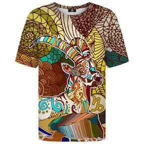 Tričko s krátkym rukávom Znamenie zverokruhu Kozorožec